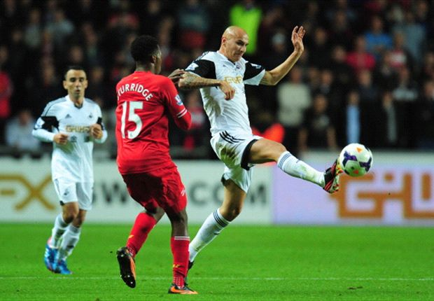 Swansea 2-2 Liverpool: Shelvey hero and villain in topsy-turvy match