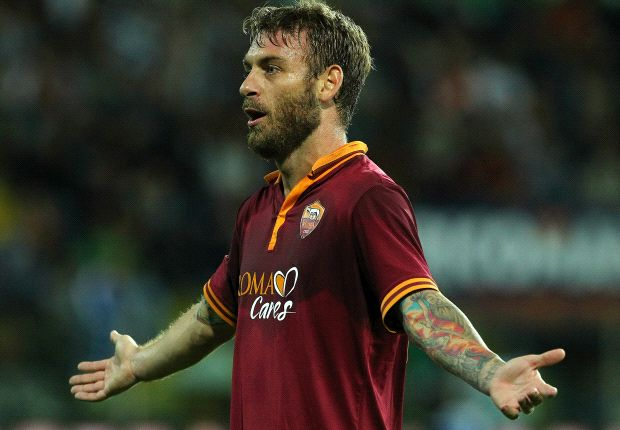 De Rossi: Juventus have got lucky with referees
