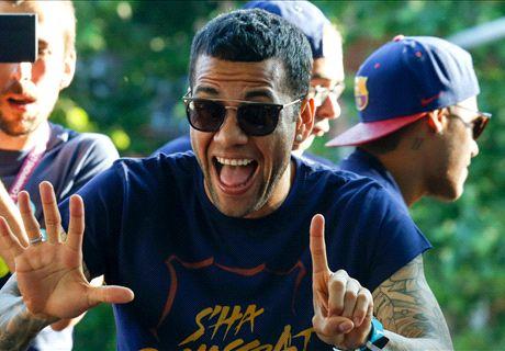 Alves 'vacila' a los clubes madrileños