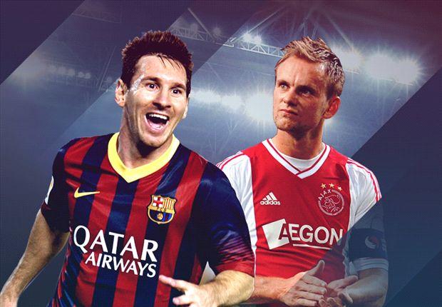 LIVE! + Opstellingen: FC Barcelona - Ajax