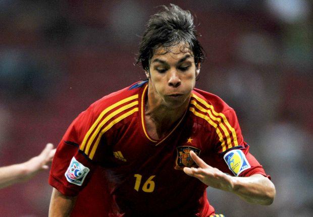 Óliver Torres en las categorías inferiores de España