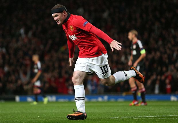 Manchester United 4-2 Bayer Leverkusen: Rampant Rooney gets Moyes off to perfect Champions League start