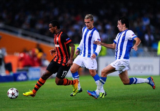 Real Sociedad 0-2 Shakhtar Donetsk: Teixeira double gives Ukrainians edge in Spain