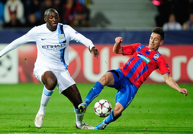 Viktoria Plzen 0-3 Manchester City: Pellegrini's men off to flyer in Champions League