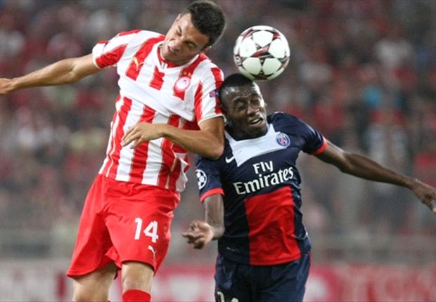 Olympiakos 1-4 Paris Saint-Germain: Thiago Motta double downs Greeks