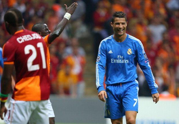 Cristiano Ronaldo war nach dem Kantersieg gegen Galatasaray sehr zufrieden