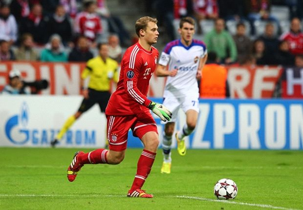 Neuer: CSKA Moscow never troubled Bayern