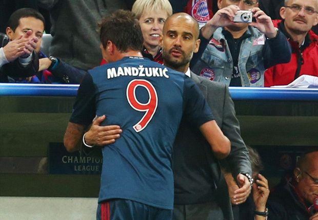 Mandzukic hails Guardiola tactics