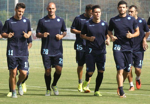 Il Napoli nella sgambata pre-Borussia