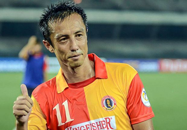 Ryuji Sueoka hopeful about EB chances (Photo Credit: East Bengal FC)
