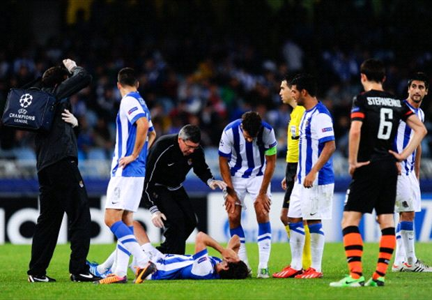 Granero out for six months with knee injury
