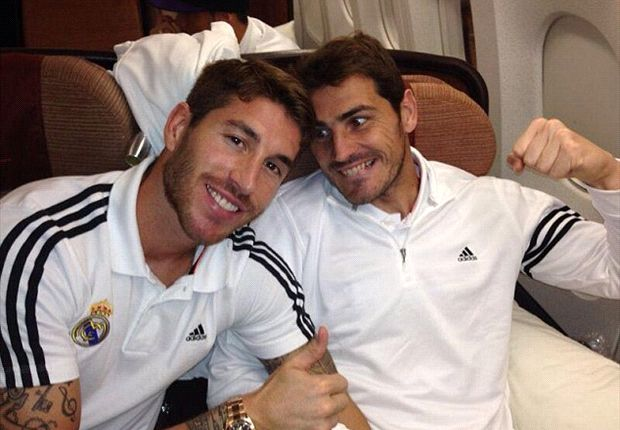 Casillas wanted to kill me, jokes Ramos