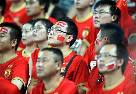 Cinco 'pecados' del fútbol chino