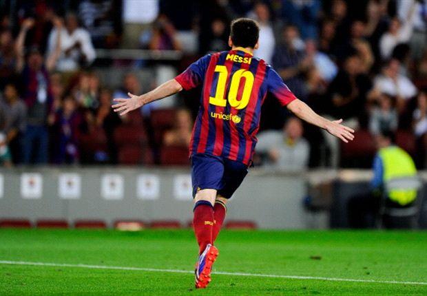 El rosarino fue el encargado de abrir el marcador esta noche en el Camp Nou
