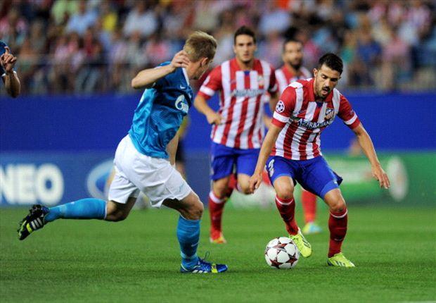 Atlético komt dreun van Hulk te boven