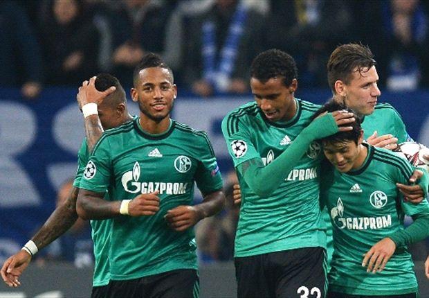 Im ersten Spiel gegen Bukarest ging der FC Schalke 04 als Sieger hervor