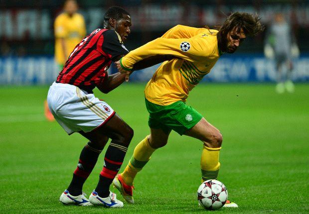 AC Milan 'got lucky' against Celtic - Emanuelson