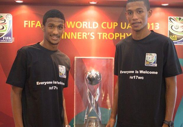 UAE 2013: Fifa U-17 trophy unveiled