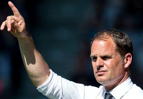 De Boer hoorde nog niks van Inter