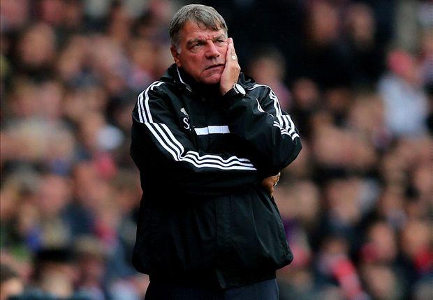 Allardyce concerned by goal-shy West Ham