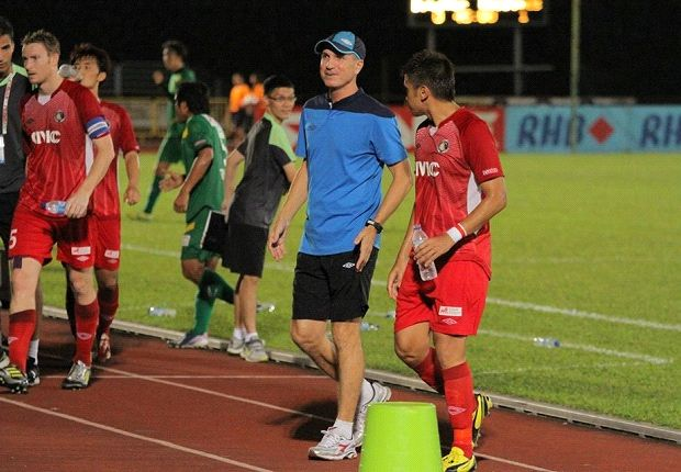 Balestier coach Darren Stewart was happy enough with their display despite losing
