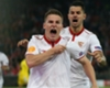 Gameiro 'very happy' at Sevilla