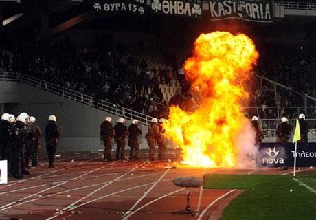 Suspension du championnat grec