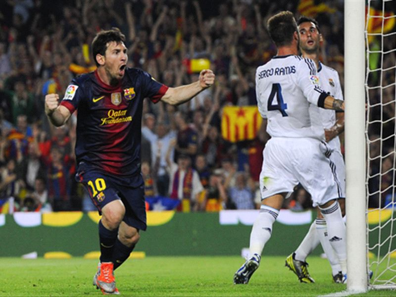 Barcelona-Real Madrid on October 26