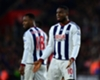Victor Anichebe training at Knutsford FC as club search continues