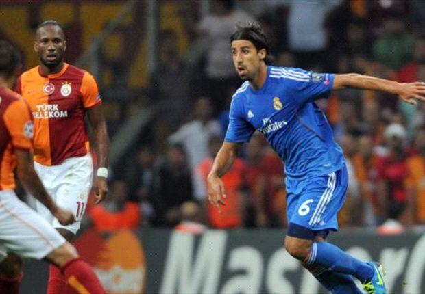 Gegen Galatasaray stand Khedira wieder in der Startelf