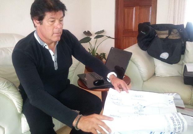 Former AFC Leopards coach Luc Eymael