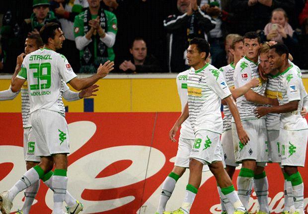 Heimsieg: Gladbach jubelte gegen Braunschweig
