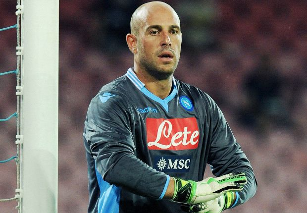 Reina: Benitez has given Napoli a winning mentality