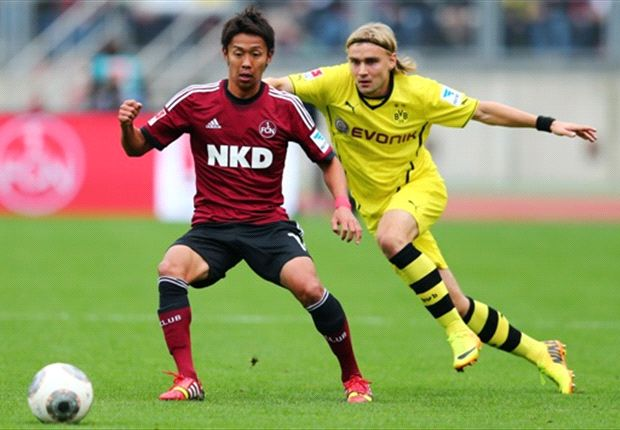 Nurnberg 1-1 Borussia Dortmund: Nilsson ends BVB's perfect start