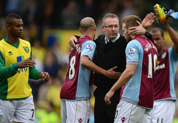 Aston Villa 'running on empty' ahead of Tottenham tie - Lambert