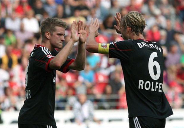 Lars Bender brachte Leverkusen in Mainz mit dem 47.000. Tor der Bundesliga-Geschichte auf die Siegerstraße