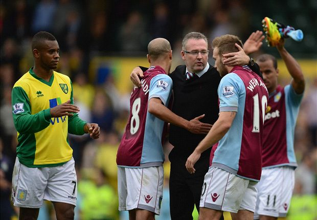 Aston Villa boss Lambert remains hopeful over Benteke injury