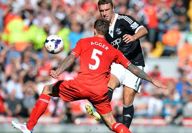Liverpool 0-1 Southampton: Lovren ends Reds' unbeaten run