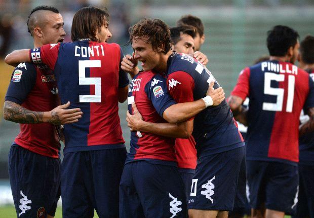 Nun können sie bald wieder im eigenen Stadion jubeln, die Spieler von Cagliari Calcio