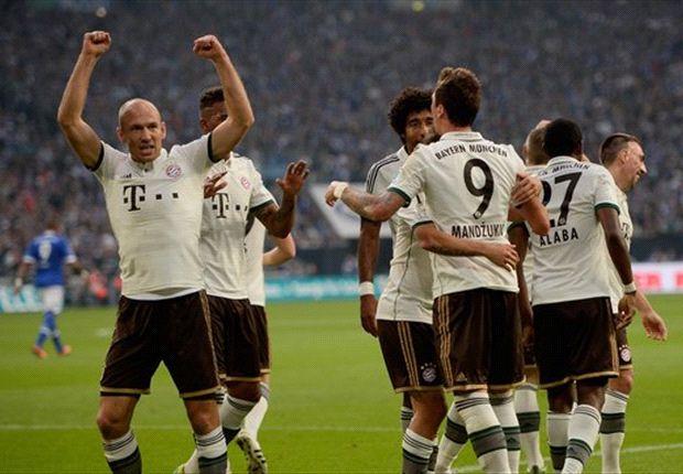Celebra el Bayern el primer tanto ante Schalke
