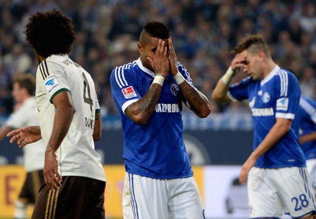 Blieben glücklos: Kevin-Prince Boateng und Adam Szalai vom FC Schalke 04