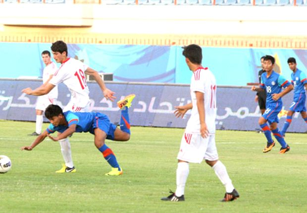 The Indian U-16 team looked their part in a brilliant triumph over their Lebanese counter-parts