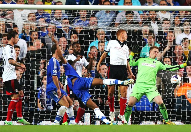 Mikel scored his first goal in the EPL on Saturday