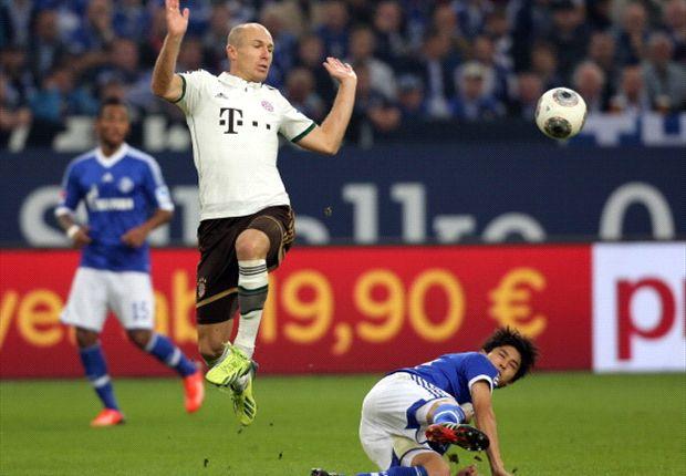 Bereitete auf Schalke den Führungstreffer durch Bastian Schweinsteiger vor: Arjen Robben
