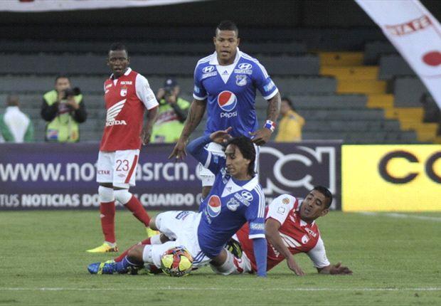 Santa Fe 0-0 Millonarios: Nuevamente a cero