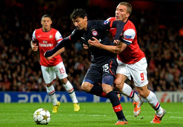 The star recruit in action against Arsenal last season