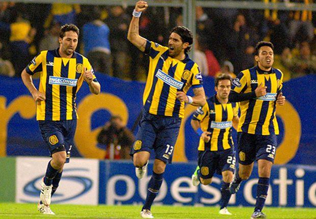 Después de tanto ir, finalmente Abreu la metió sobre el final y Rosario Central rescató un punto.