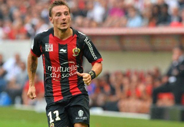 Eric Bauthéac a inscrit l'un des quatre buts niçois face à Valenciennes