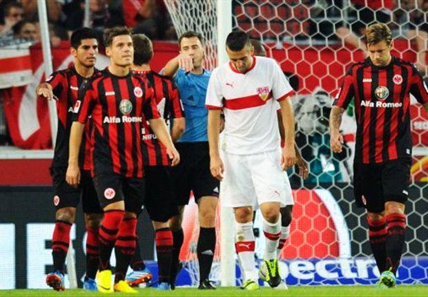 Sichtlich geknickt: Vedad Ibisevic vom VfB Stuttgart