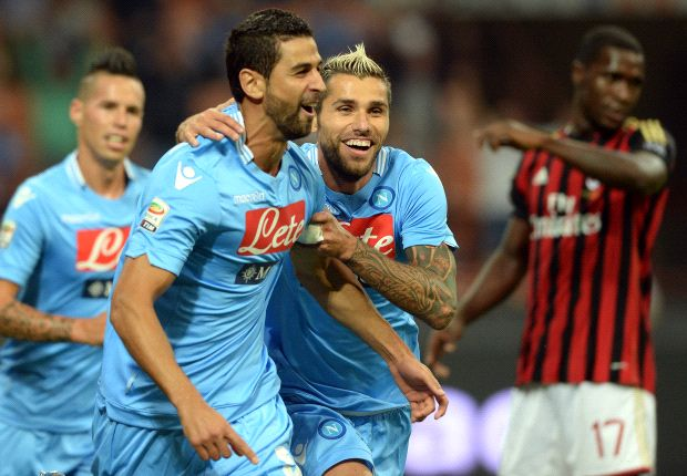 AC Milan 1-2 Napoli: Balotelli misses penalty as Napoli maintains perfect start
